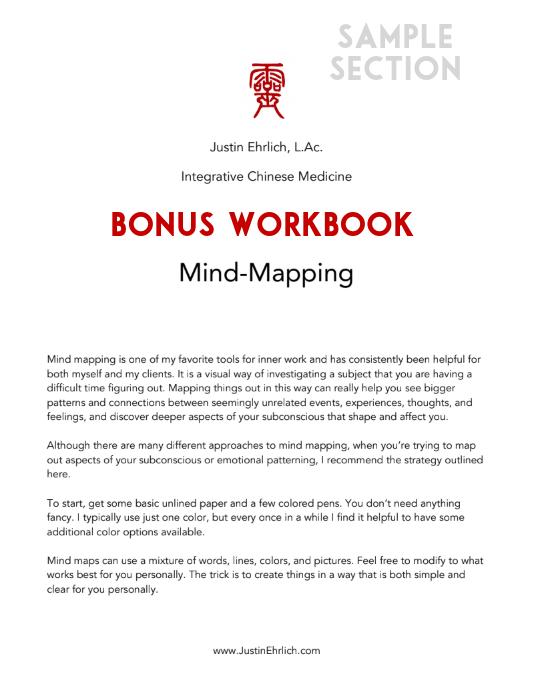 Mind Mapping Workbook Sample 1